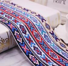 2 Yards Jacquard webbing Lace Trim Lace ribbon Clothes Curtains hat bag