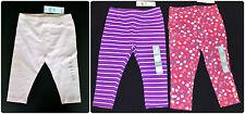 NWT Baby Girl GAP Stretch Purple Pink Leggings (3-6-12-18-24-2T-3T-4T-5T)