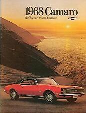1968  68   CAMARO RS/SS  SALES BROCHURE