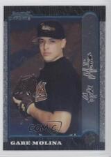 1999 Bowman Chrome International 170 Gabe Molina Baltimore Orioles Baseball Card