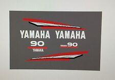 Yamaha 2-Stroke 60/70/85/90hp Outboard Engine MARINE VINYL Decal Kit