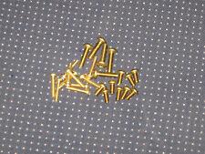10 pack - 10x24 Brass phillips pan head screws = 3/8 = 1/2 = 3/4