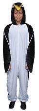 Penguin Long Sleeve Jumpsuit Child Costume Zipper Front Fancy Dress Up America