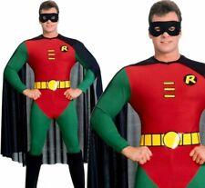 Robin Classic Adult Licensed Official Superhero Mens Batman Fancy Dress Costume