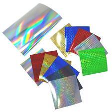 Hologramm Plotterfolien MUSTER Sets Plottfolie Oilslick Folie Glitter Chrom