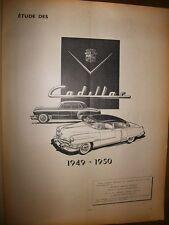 Cadillac 49-50 : revue RTA 59