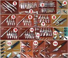 Fruit Food Wood Leather Craft Carve Cutter Knife Sculpture Engraving Tool Blades