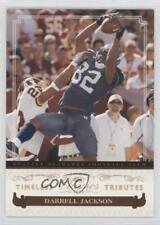 2006 Donruss Classics Timeless Tributes 86 Darrell Jackson Seattle Seahawks Card