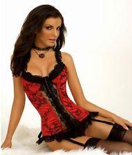 Lingerie Bustier Corset Women's Underwear G-String Clothing Evening Sleep Wear