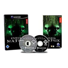 Nintendo Gamecube Spiel ENTER THE MATRIX - 2 CDs in OVP mit Anleitung