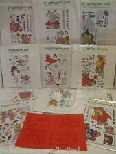 De sello acrílico hojas A5 Excelente Para cardmaking, Scrapbooking 11 para elegir