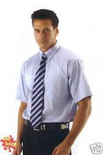 Elite OXFORD MEN'S SHORT SLEEVED Easycare Work Business Formal SHIRT