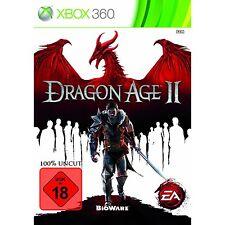X-Box 360 Dragon Age 2 Action Adventure jeu de rôle combat guerre Fantasy uncut