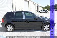 GTG 2000 - 2005 VW Volkswagen Golf 6PC Chrome Stainless Steel Pillars Posts