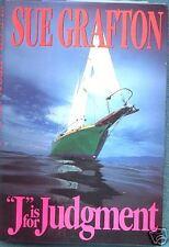 J IS FOR JUDGMENT ~ Sue Grafton ~ 1993 HC DJ FE