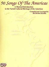 CULTURAL HERITAGE OF AMERICAS folk-songs songbook