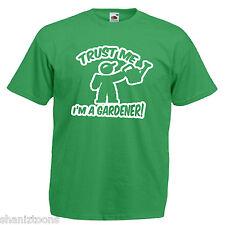 Giardiniere giardinaggio Adulti Da Uomo T Shirt 12 Colori Taglia S - 3XL