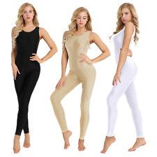 Women Adult Tank Dance Ballet Gymnastics Leotard Bodysuit Top Unitard Ladies