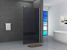 Walk In Dusche Duschwand Duschabtrennung 40-160x200cm 10mm Grauglas