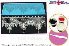 Edible Cake Lace Starter Kit | Designer Xasara Cake and Cupcake Lace Mat