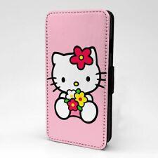 Funda Flip Hello Kitty protectora para teléfono móvil-T1465