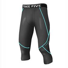 Take Five Mens Skin Tight Compression Base Layer Running Pants Leggings NP522