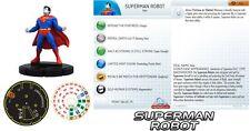 SUPERMAN ROBOT #100 DC Superman HeroClix BRICK FIGURE