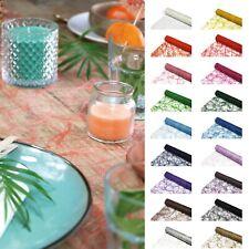 5 m Tischläufer Tischband Tischdecke Sizoweb®, Breite: 30 cm Tischdeko Tafeldeko