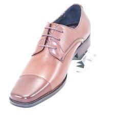 CK1461 Chris Kaadu Men Dress Comfort Shoe Oxford Brown