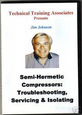 SEMI-HERMETIC COMPRESSORS: TEST, SERVICE &  ISOLATING