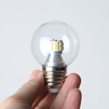 220V 7W LED Globes E27 Screw Bulbs Glass Lighting Yellow Warm Light/ White Light