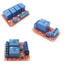 Support High Low Level Trigger 5V/9V/12V/24V 1/2/4 Kanal Relay +Optokoppler