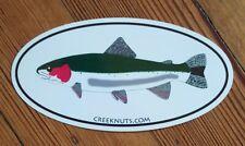 "FLY FISHING BUMPER STICKERS Steelhead Trout 2 SIZES 5""x3"" & 7 1/2""x4 1/2"" Decals"