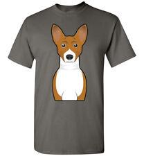 Basenji Dog Cartoon T-Shirt Tee - Men Women Ladies Youth Kids Tank Long Sleeve