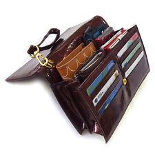 New Men's Business Clutch Wrist Bag Luxury Hand Bag Tote Bag Wallet Purse