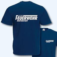 T-Shirt, Freiwillige Feuerwehr, inkl. Ortsname, versch. Farben, S-XXXL