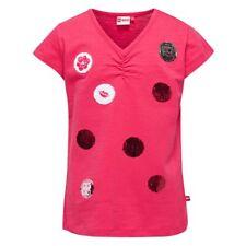Niñas Camiseta Rojo Lentejuelas Legowear 20122 talla 110 116 128 134 140 146 152