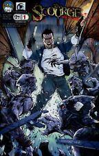 Scourge #1 Cover C - Talent Caldwell Comic Book - Aspen