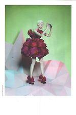 PUBLICITE ADVERTISING  2012  ALXANDER MAC QUEEN  robe de soirée haute couture