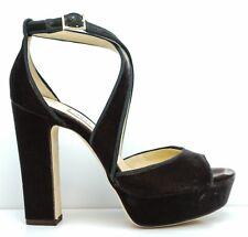 New in Box Jimmy Choo Ladies Moka Velvet Sandal Joyce 120