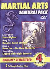 Martial Arts Samurai Pack  NEW DVD FREE SHIPPING!!