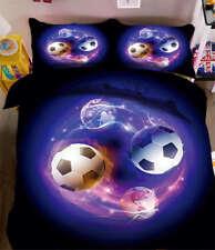 Electric Soccer 3D Printing Duvet Quilt Doona Covers Pillow Case Bedding Sets