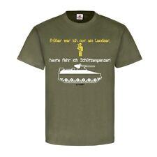 Schützenpanzer Fahrer Panzergrenadier Bundeswehr Spaß Grenadier T-Shirt #23291