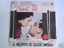 """NICO FIDENCO Il mondo di Suzie Wong 7"""" COLONNA SONORA"""