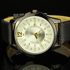 Luxus Herrenuhr Weiß  Schwarz Herren Armbanduhr Geschenk Watch U1727L
