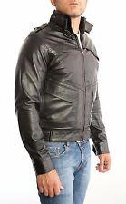 US Men Leather Jacket Hommes veste cuir Herren Lederjacke chaqueta cuero n10p2