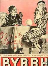 1934 Publicité BYRRH Voyante extra-lucide