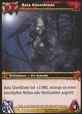WoW - 4x Bala Silentblade - Helden von Azeroth - mint