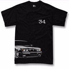 T-shirt for bmw e34 fans 520 525 530 m5 first gen + facelift