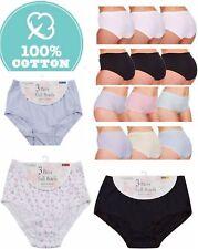 944d23931e57 3/6/12 Pack Ladies Cotton Plus Size Full Briefs, Underwear, Pants